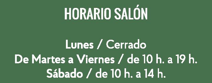 Horario-salon 2018